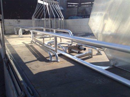 alumīnija margas aluminium railings